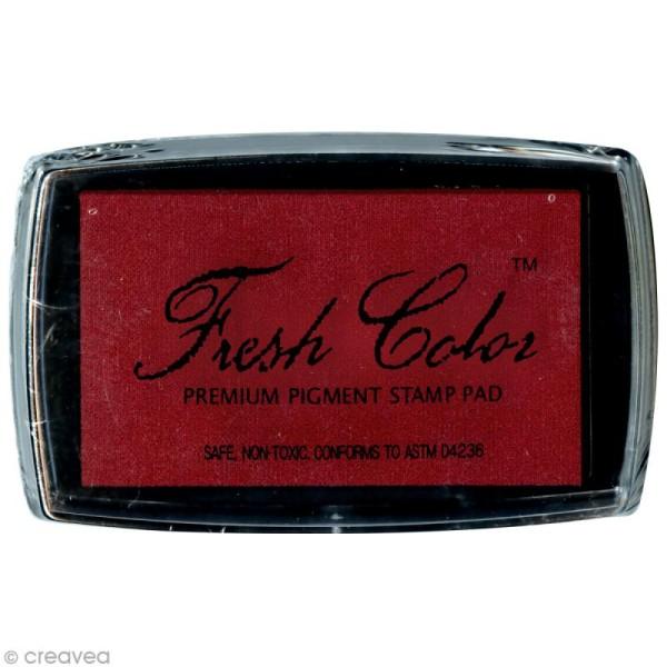 Encreur Fresh Color pour embossage - Rouge - Photo n°1