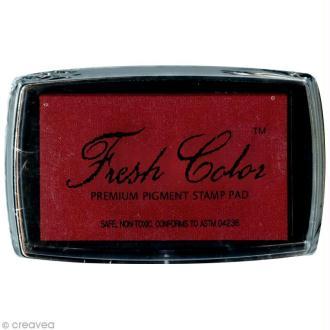 Encreur Fresh Color pour embossage - Rouge
