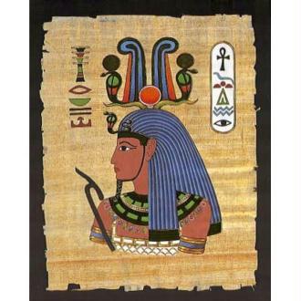 Image 3D Papyrus - Homme Egyptien 24 x 30 cm