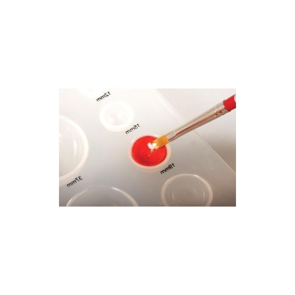 Quilling gabarit hémisphères, 18,5x9cm - Photo n°4