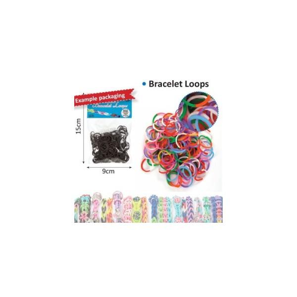 Bracelet loops x300 + clips x12 bicolore - Photo n°1