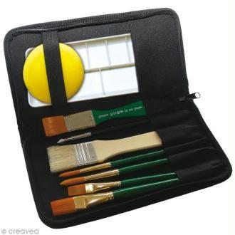 Trousse kit d'outils loisirs créatifs x 9