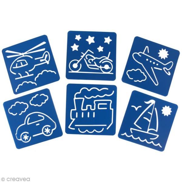 Pochoir enfant transport x 6 - Photo n°3