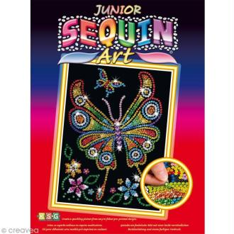 Sequin Art Junior - Papillon