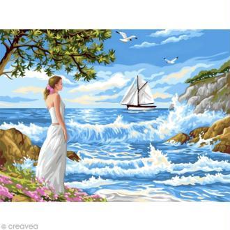 Peinture numéro - Appel de la mer