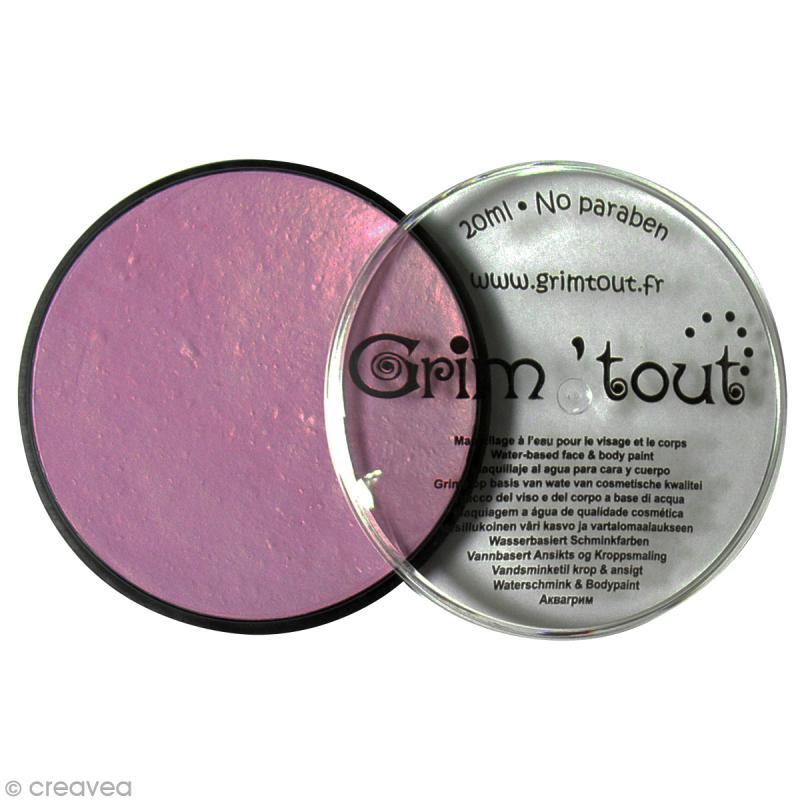 Maquillage professionnel Grim'tout Fard - Mauve - Galet 20 ml - Sans paraben - Photo n°1