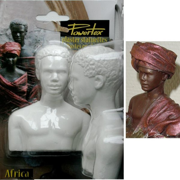 Powertex africain entier 11x8x5 - Photo n°2