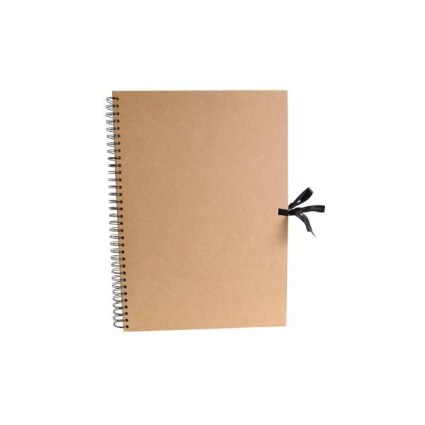 Album scrapbook A3 kraft - Photo n°1
