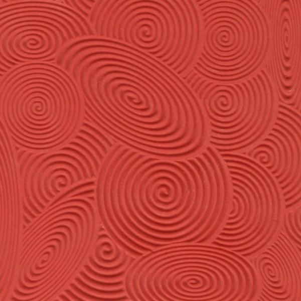 Cernit plaque de texture spirales - Photo n°2