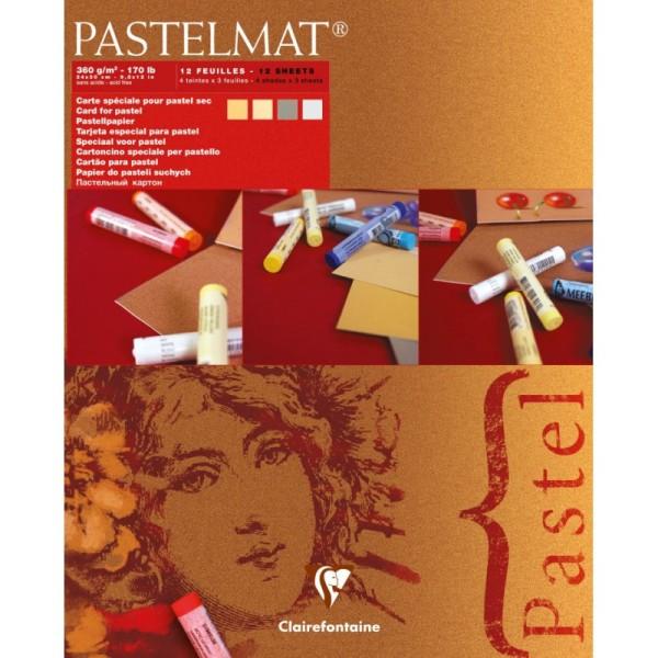 Bloc pastel pastelmat n°1 360g 24x30 cm - Photo n°1