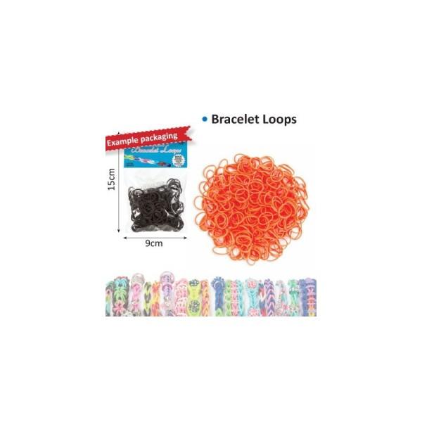 Bracelet loops x300 + clips x12 orange - Photo n°1