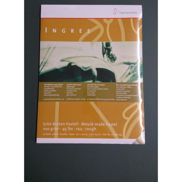 Véritable bloc de papier à la cuve ingres 100g Hahnemuhle - Photo n°1