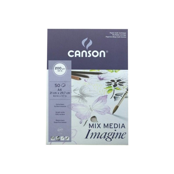 Papier Mix Media Imagine 200g CANSON - Photo n°2