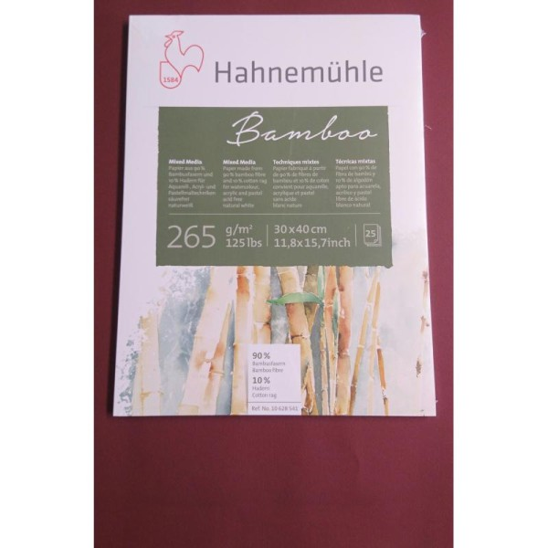 Bamboo 265g A3 Hahnemuhle - Photo n°1