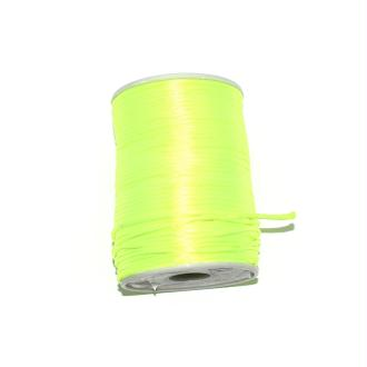 Queue de rat jaune fluo 2,2 mm x1 m