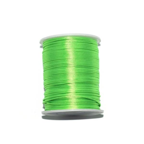 Queue de rat vert fluo 2,2 mm x1 m - Photo n°1