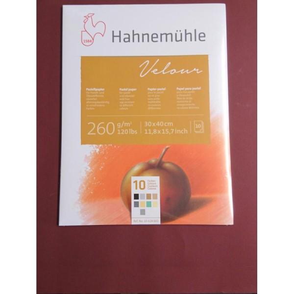 Velour 260g A3 Hahnemuhle - Photo n°1