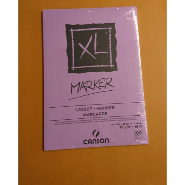Papier marker A3 70g Canson - Photo n°1