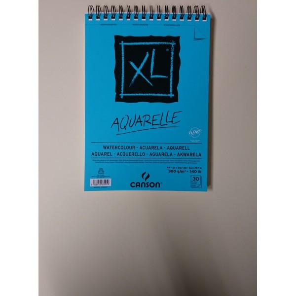 Carnet A4 Canson XL - Aquarelle - 30 feuilles - Photo n°2