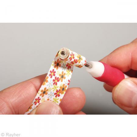 Goupille de quilling - Fente et aiguille de 3 cm - Photo n°3