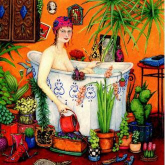 La salle de bain 20 - carte postale