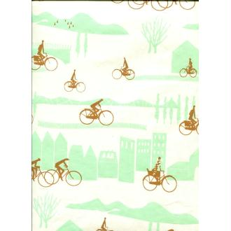 Be cycle, papier fantaisie indien