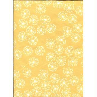 Fleur de pissenlit, papier fantaisie indien
