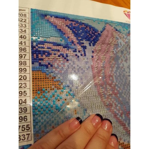 Broderie Diamant Kit - Lanterne - 40 x 30 cm - Photo n°3