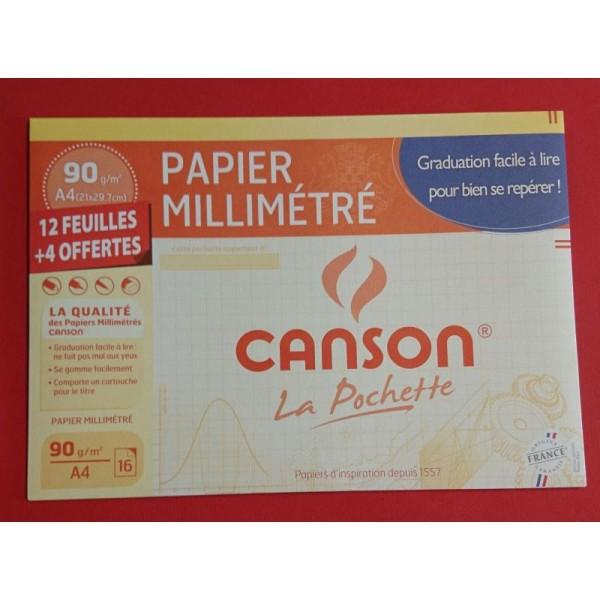 Papier millimétré Canson - Photo n°1