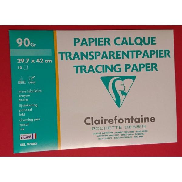 Papier calque A3 Clairefontaine - Photo n°1