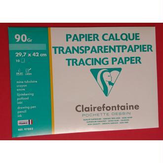 Papier calque A3 Clairefontaine