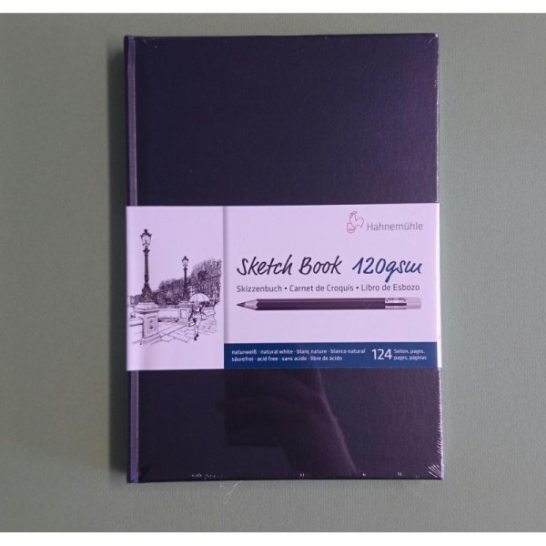Sketch Book 120g A5 Hahnemuhle - Photo n°1
