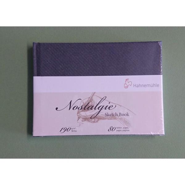 Carnet de papier esquisse blanc Nostalgie Hahnemuhle - Photo n°1