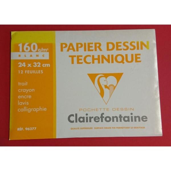 Papier dessin technique Clairefontaine - Photo n°1