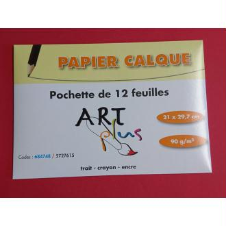 Papier calque Art plus