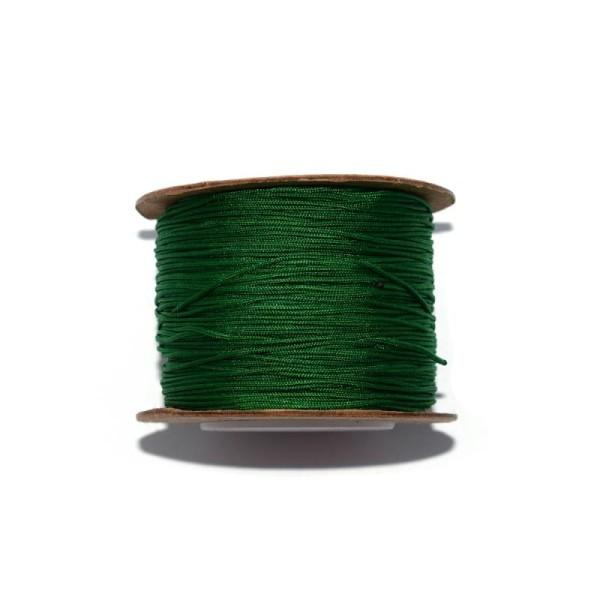Fil nylon tressé 0,8 mm vert x1 m - Photo n°1