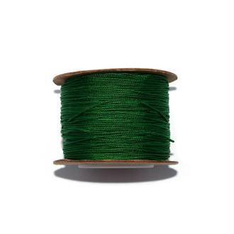 Fil nylon tressé 0,8 mm vert x1 m