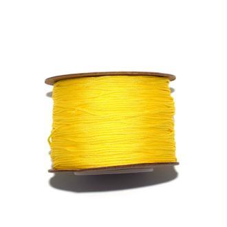 Fil nylon tressé 0,8 mm jaune x1 m