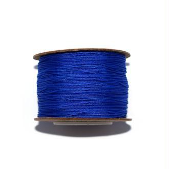 Fil nylon tressé 0,8 mm bleu roi x1 m