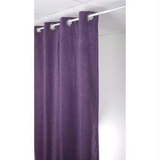 Rideau isolant thermique 140x260 pret à poser violet