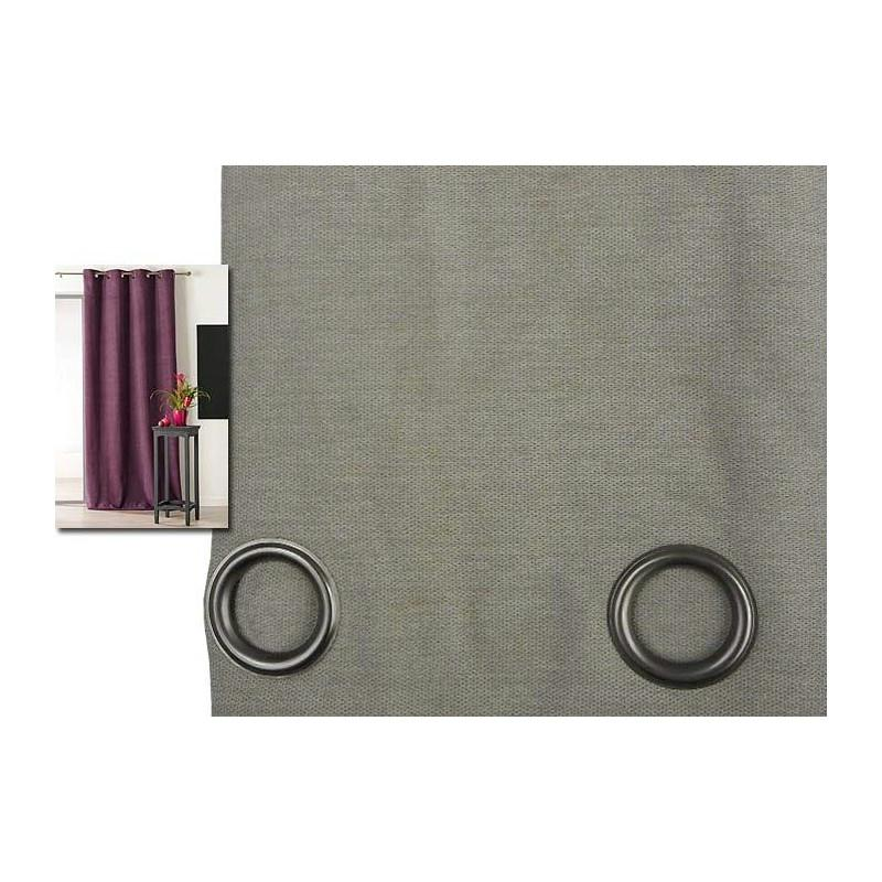 rideau isolant thermique 140x260 pret poser beige. Black Bedroom Furniture Sets. Home Design Ideas