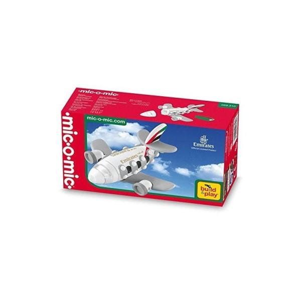 Mic-o-mic - 3189310 - Kit de Construction - Petit Jet Emirates - Photo n°1
