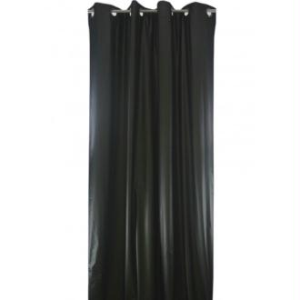 Rideau isolant phonique et thermique 150x260 pret à poser noir