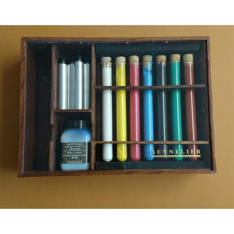 Kit de pigments pour fabriquer son acrylique pigments - Kit de reparation baignoire acrylique ...