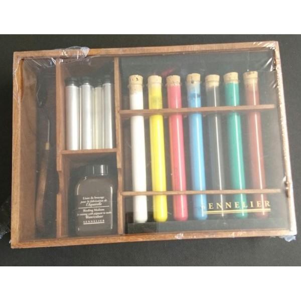 Kit de pigments pour fabriquer son aquarelle - Photo n°1