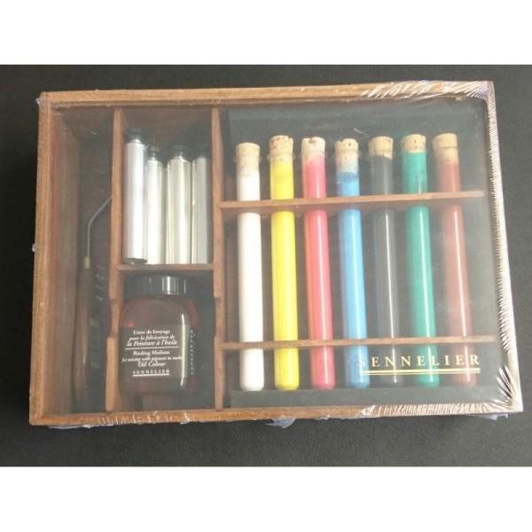 Kit de pigments pour fabriquer son huile - Photo n°1