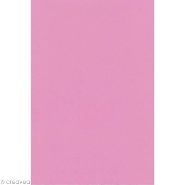 Feuille de mousse Crepla 20 x 30 cm rose clair - Photo n°1
