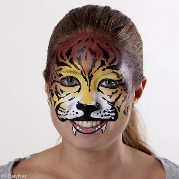 Pochoir maquillage Paint me - Tigre - 14,5 x 10 cm - Photo n°2