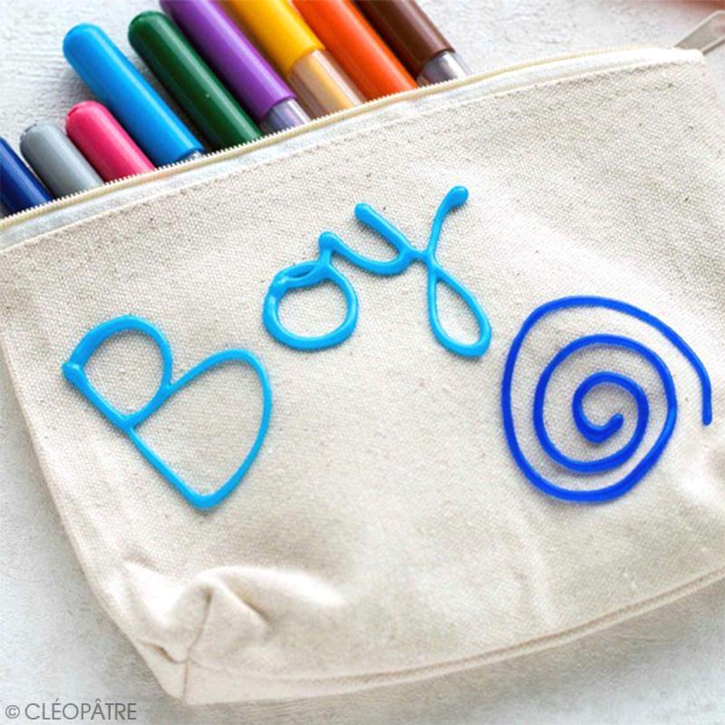 Bâtonnets peinture 3D Cléo'stick - 8 couleurs flashy - 20 pcs - Photo n°4