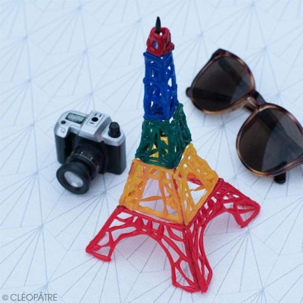 Bâtonnets peinture 3D Cléo'stick - 8 couleurs flashy - 20 pcs - Photo n°3